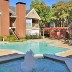 Pear Ridge Apartment Pool & Fountain