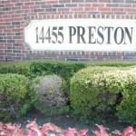 Preston Bridge Apartment Community Sign