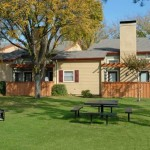 Preston Creek Apartment Garden