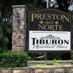 Preston Del Norte Apartment Community Sign