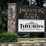 Preston Del Norte Apartment Community Sign