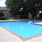 Preston Del Norte Apartment Pool View