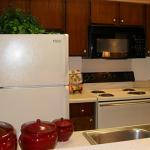 Preston Oaks Apartment Kitchen