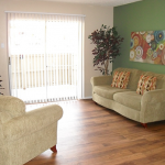 Preston Oaks Apartment Living Room