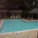 Preston Oaks Apartment Pool View