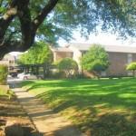 Preston Park Apartment Garden Area