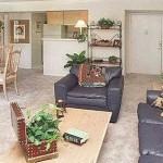 Preston Pointe Apartment Living Room