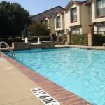 Preston Townhomes Apartment Pool Area