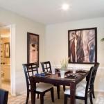 Preston Village Apartment Dining Room
