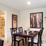Preston Village Apartment Dining Room