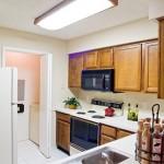 Preston Village Apartment Kitchen