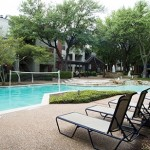 Preston Village Apartment Pool Area