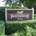 Prestonwood Trails Apartment Entrance