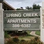 Spring Creek Apartment Entrance