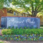 Sunset Oaks Apartment Entrance