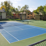 Sunset Oaks Apartment Tennis Court