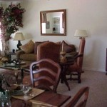 The Brazos Apartment Dining Room