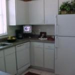 The Brazos Apartment Kitchen