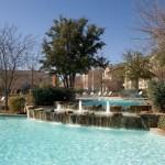 The Brazos Apartment Pool View
