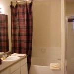 The Brazos Apartment Washroom