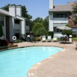 The Pointe at Timberglen Apartment Pool View
