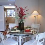 Tiburon Apartment Dining Room