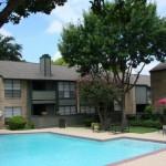 Tiburon Apartment Pool Area