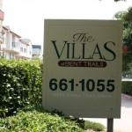 Villas of Bent Trails Apartment Community Sign
