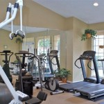 Willows on Rosemeade Apartment Fitness Centre