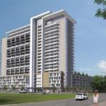1400 Hi Line Apartment Building View