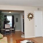 Advenir at Highland Park Apartment Living Room