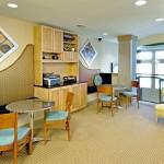 Alta Design District Apartment Dining Area