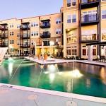 Alta Design District Apartment Pool View