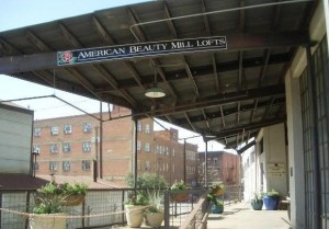American Beauty Mill Lofts Apartment Building View