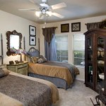Archstone Park Cities Apartment Bed Room