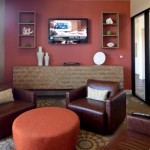 Eastwood on Henderson Apartment Living Area