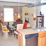 Interurban Building Apartment Kitchen With Dining
