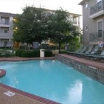 Kingsgate Apartment Patio