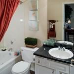 Lakewood on the Trail Apartment Bathroom