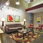 Lofts at Mockingbird Station Apartment Family Room