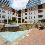 Marquis at Cedar Springs Apartment Building View
