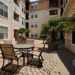 Marquis at Cedar Springs Apartment Courtyard