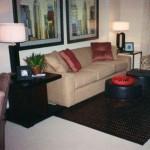McKinney Uptown Apartment Living Room