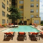 McKinney Uptown Apartment Pool Area