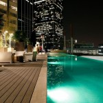 Mosaic Highrise Apartment Pool