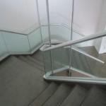 Mosaic Highrise Apartment Stair View