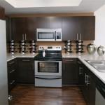 Park 4200 Apartment Kitchen.