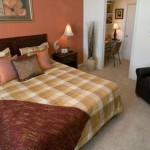 Post Uptown Village Apartment Bed Room