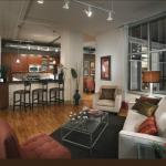 The Ashton Apartment Living Room
