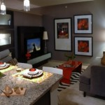 The Avery on Southwestern Apartment Living Room
